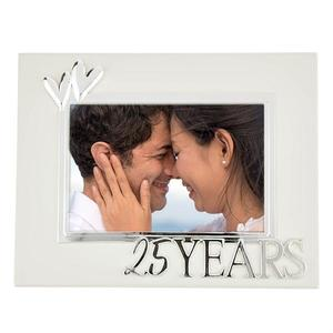 25-years-white-frame buy at Florist