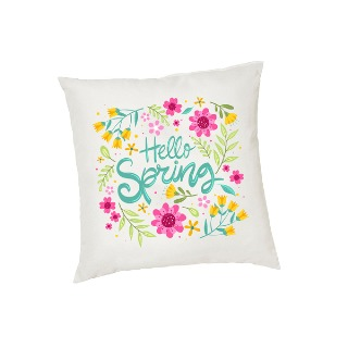 Hello Spring Decor Cushion Cover buy at Florist