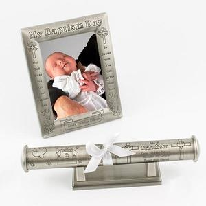 baptism-pewter-3-piece-set buy at Florist