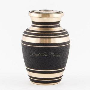 black-and-gold-keepsake-urn buy at Florist