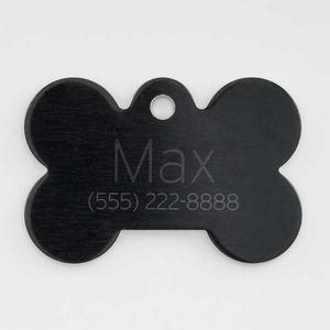 Black bone pet tag buy at Florist