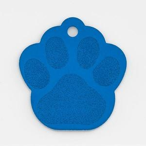 Blue paw pet tag buy at Florist