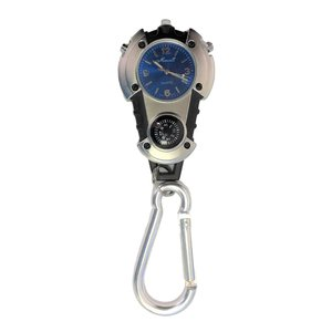Carabiner Watch & Compass Keychain buy at Florist