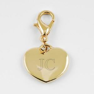 Charm small heart gold buy at Florist