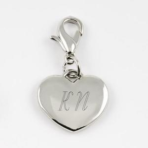 Charm Small Heart Silver buy at Florist