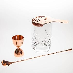 copper-stirred-cocktail-set buy at Florist