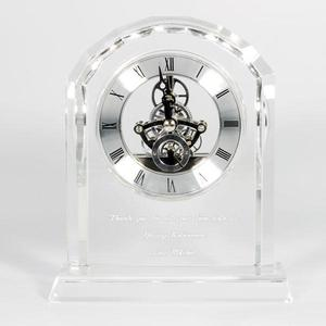 Crystal skeleton clock buy at Florist