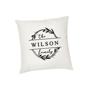 Family Monogram Cushion cover buy at Florist