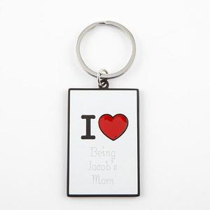 i-heart-keychain-vertical buy at Florist