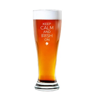 Keep Calm Rounded Pilsner Glass 16oz buy at Florist