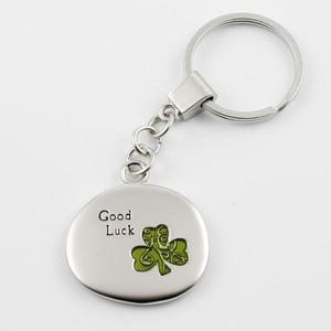 Keychain good luck clover buy at Florist