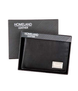 mens-black-leather-wallet-with-engraving-plate buy at Florist