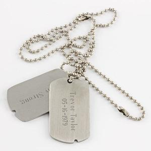 Military Style Dog Tags buy at Florist