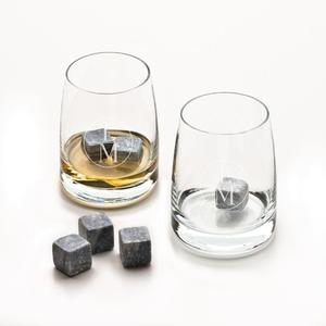 Monogram Whiskey Tumbler set with stones buy at Florist