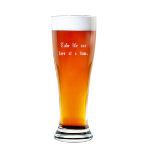 Rounded Pilsner Glass 16oz buy at Florist