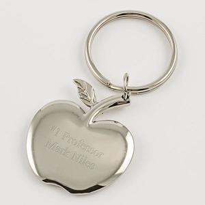 silver-apple-keychain buy at Florist