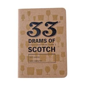 Taste book 33 drams of scotch buy at Florist