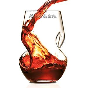 Twisted wine tumbler set of 2 buy at Florist