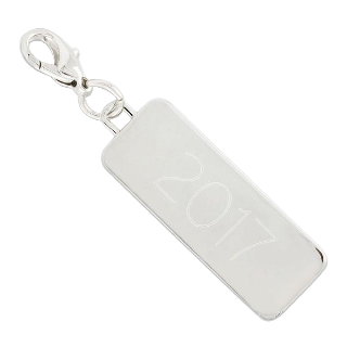 Charm Rectangular Silver buy at Florist