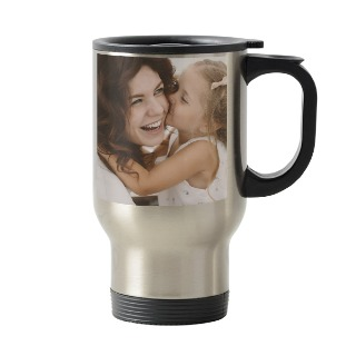 Mother's Day Custom Photo Stainless Steel Travel Mug 16oz buy at Florist